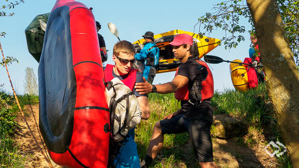 Multiday Packrafting Kurse im Hunsrueck
