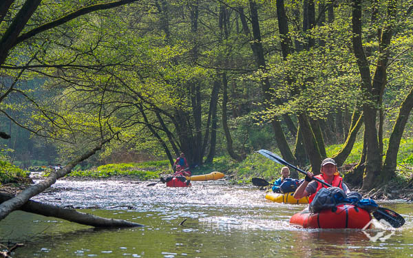 Multiday Packrafting Kurs Hunsrück-Tour