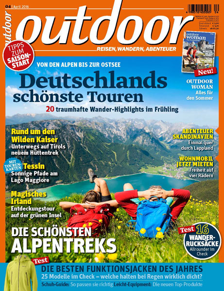 LWA Outdoor Magazin Packrafting Laponia Titel