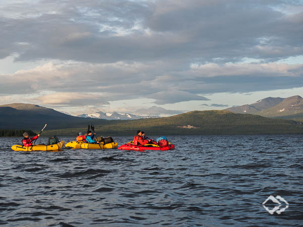 Packrafting Expeditionskurs Sylan Mountains Norwegen/Schweden
