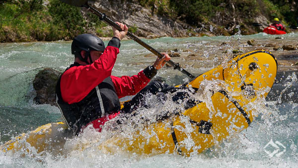 Advanced Wildwasser Packrafting Kurse Tirol